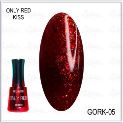 "Гель-лак GELLAKTIK ""ONLY RED KISS"" №05, 12мл"
