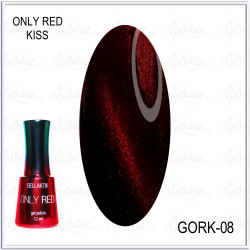 "Гель-лак GELLAKTIK ""ONLY RED KISS"" №08, 12мл"
