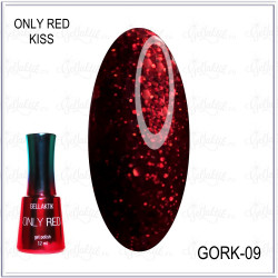 "Гель-лак GELLAKTIK ""ONLY RED KISS"" №09, 12мл"