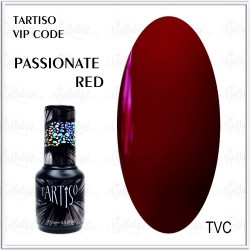 "Гель-лак TARTISO VIP CODE ""Passionate Red"", 15ml"