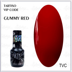 "Гель-лак TARTISO VIP CODE ""Gummy Red"", 15ml"