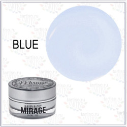 Гель BLUE UV MIRAGE LUX низкотемпературный голубой, 15гр