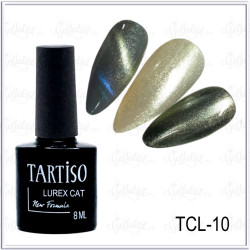 Гель-лак TARTISO LUREX CAT №10, 8мл