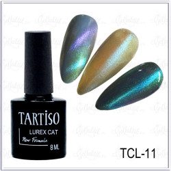 Гель-лак TARTISO LUREX CAT №11, 8мл