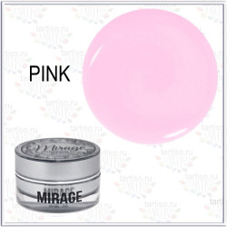 Гель PINK (ROSE) UV MIRAGE LUX розовый , 15гр